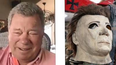 """""""Are they kidding?"""" William Shatner still can't believe they used his face for Michael Myers in 'Halloween'"""