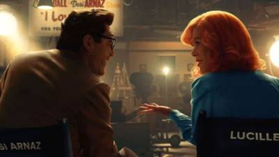 """See Nicole Kidman """"kill"""" as Lucille Ball in the teaser to Amazon's 'Being the Ricardos'"""