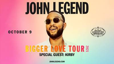 Your Chance at a Pair of Tickets to See John Legend!